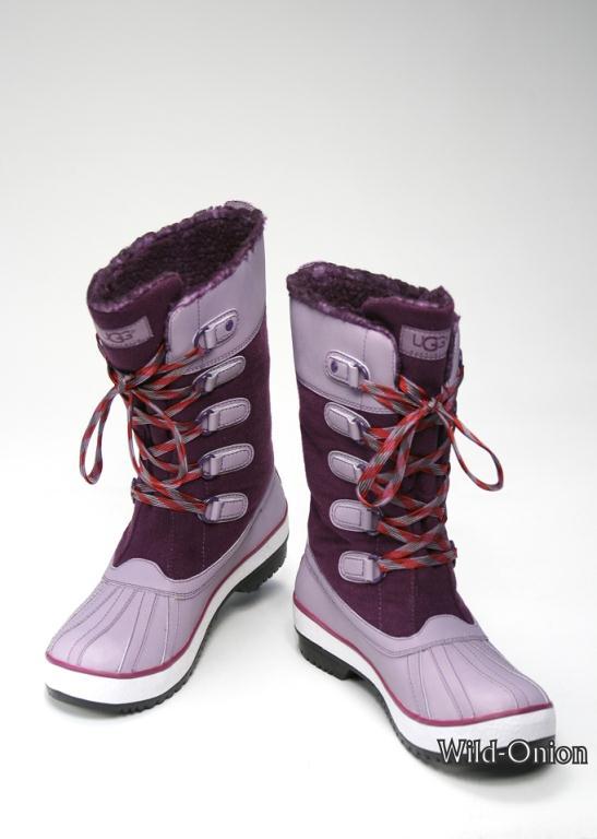 purple ugg adirondack boots