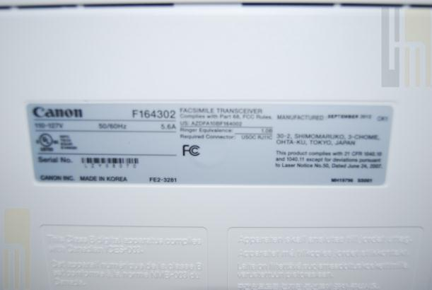 canon faxphone l190 laser multifunction fax machine