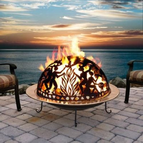 Full Moon Party Copper Fire Dome Fire Pit Ebay