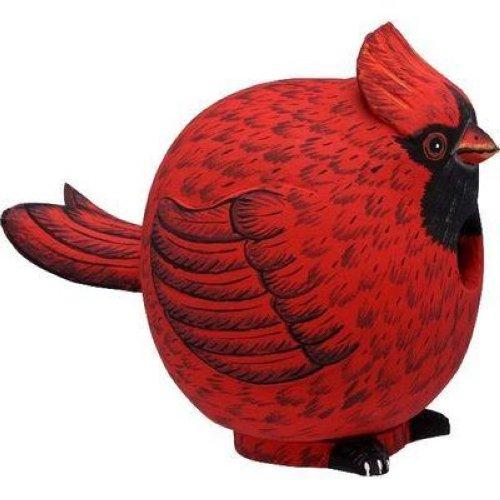 Bobbo cardinal birdhouse albesia wood bird house bobbo3880059 ebay