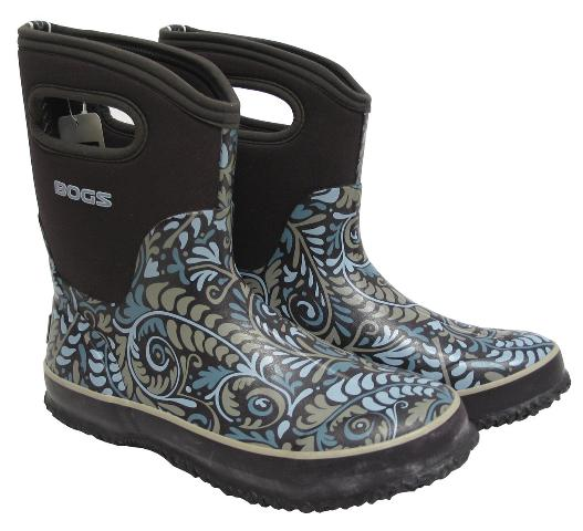 BOGS CLASSIC MID FERN SHALE BOOTS OUTDOOR BOOTS WOMENS
