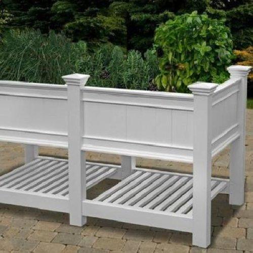 Decorative Planter Boxes Stunning New England Arbor Cambridge Raised Planter Box Extension 3 Ft Inspiration Design