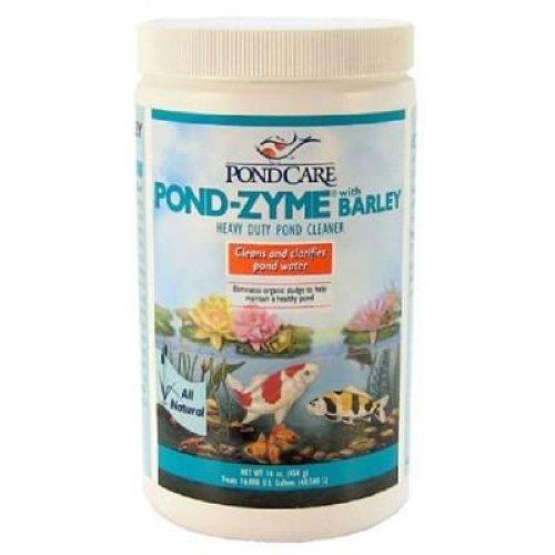 Pondcare pond zyme with barley koi pond cleaner 16oz ebay for Pond cleaner