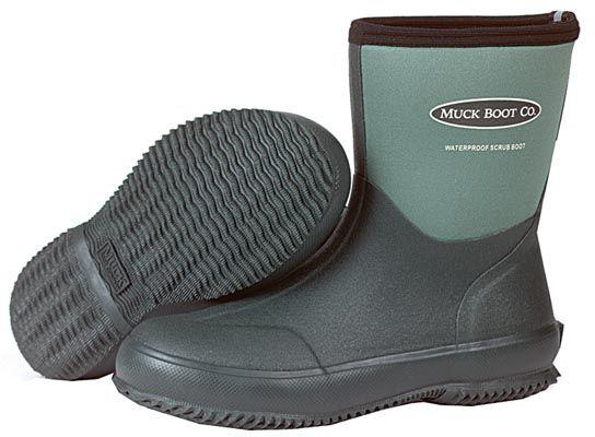 muck boot scrub lawn and garden boot mens gardening boots