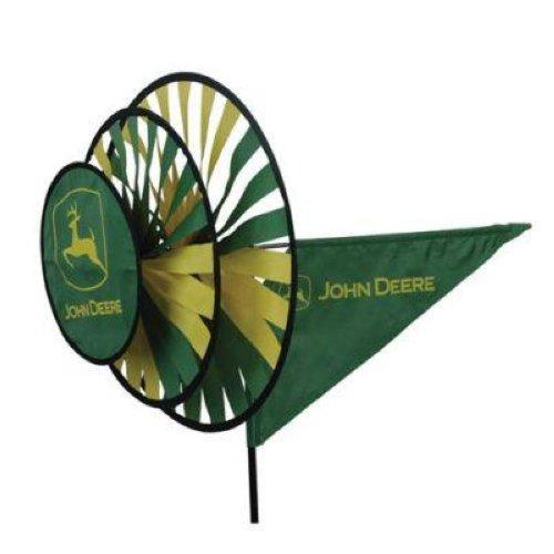 Premier wind garden john deere triple spinner ebay for Wind garden by premier designs