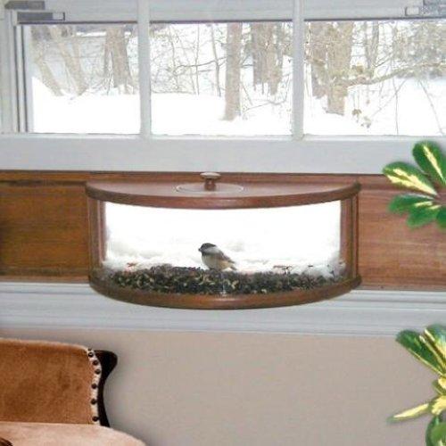 coveside panoramic in house window bird feeder ebay