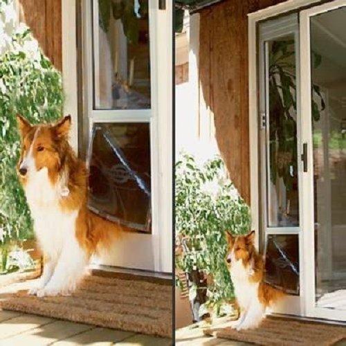 Petsafe 92 Quot 96 Quot Sliding Patio Glass Door Pet Dog Door Ebay