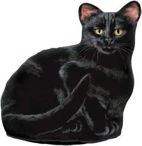 Fiddlers elbow black cat doorstop decorative door stop fe70 ebay - Cat door stoppers ...
