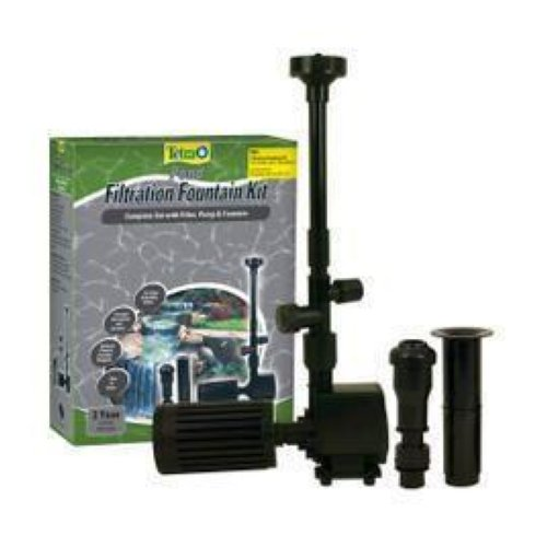 new tetra pond fk3 fountain kit 325 gph pump filter