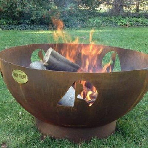 Custom Backyard Fire Pits : FANCY FIRE PIT VELA ARTISTIC CUSTOM MADE ARTESIAN OUTDOOR FIRE PIT 20
