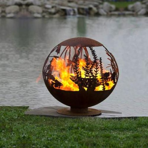 FIRE PIT GALLERY RED LAKE ARTISTIC CUSTOM MADE ARTESIAN OUTDOOR FIRE