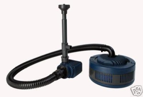 Pentair uno pond filter kit quiet one 4000 pump ebay for Pond filter kits with pump