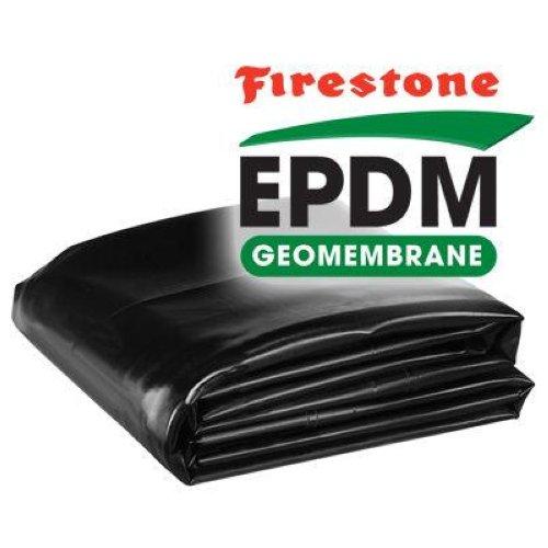 Firestone 45 mil epdm boxed pond liner 8 x 10 ebay for Epdm pond liner