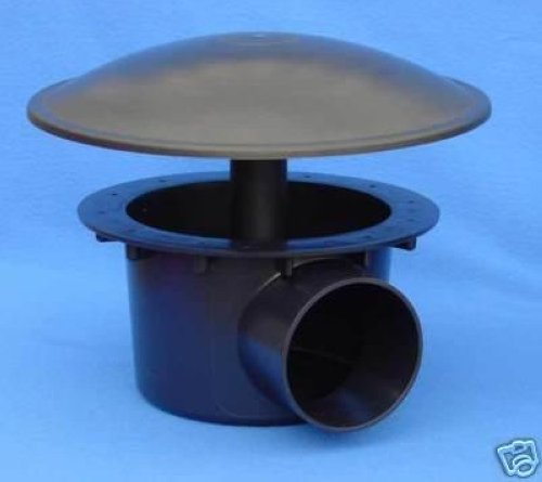 United aquatics bottom drain koi pond bottem drain 4 for Koi pond drain