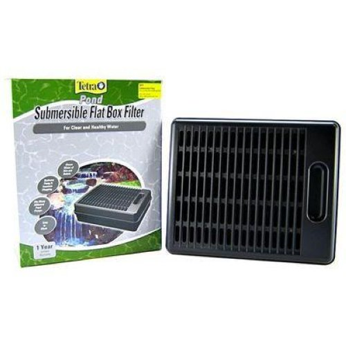 Tetra submersible flat box pond filter sf1 pond filter for Underwater pond filter