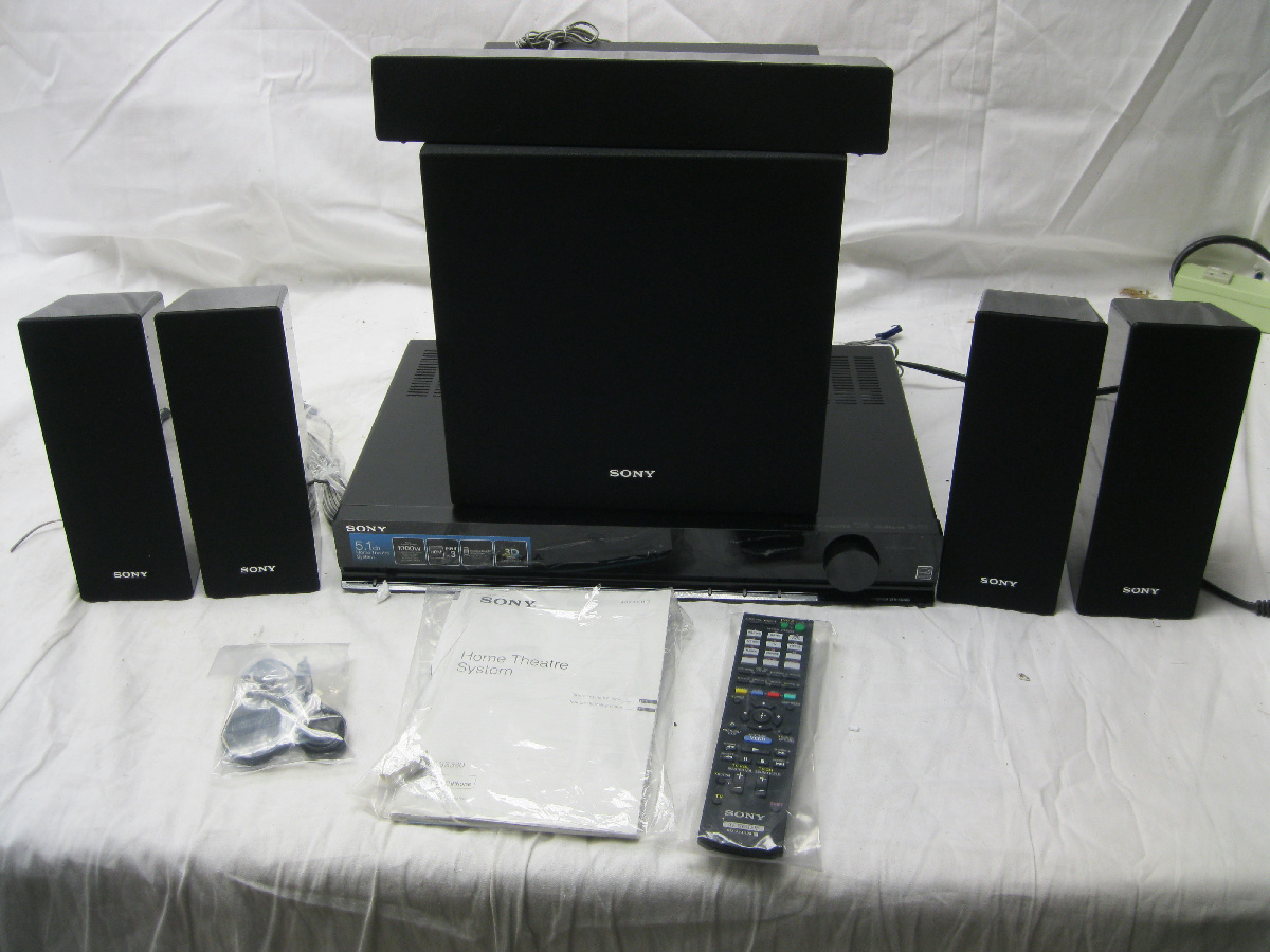 as is sony strks380 3d home theater system 5 1 channel. Black Bedroom Furniture Sets. Home Design Ideas