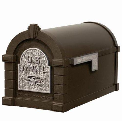 Aluminium Mail Box : Gaines keystone series mail box cast aluminum mailbox
