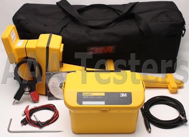 Underground 3m Dynatel 2273 Locator : M dynatel cable pipe fault locator advanced