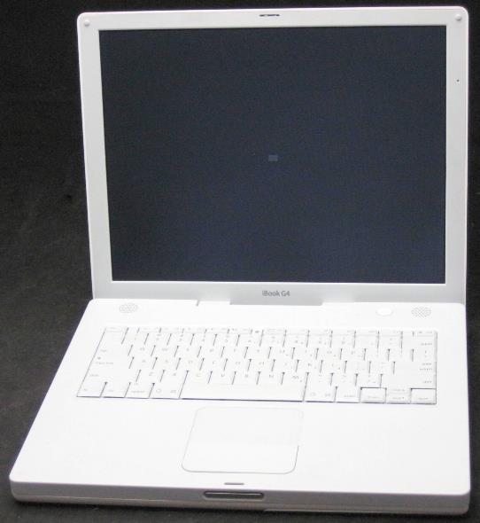 apple ibook g4 a1134 laptop parts repair powers on ebay. Black Bedroom Furniture Sets. Home Design Ideas