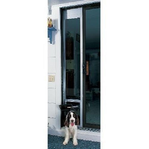Petsafe deluxe patio door dog door medium tall 93 96 ebay for Tall patio doors