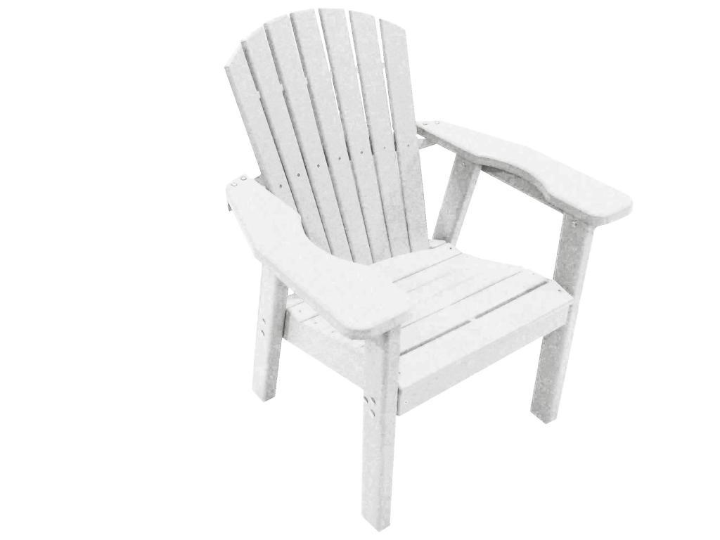 Perfect Choice Furniture Dining Adirondack Chair White Ofcd Wh Ebay