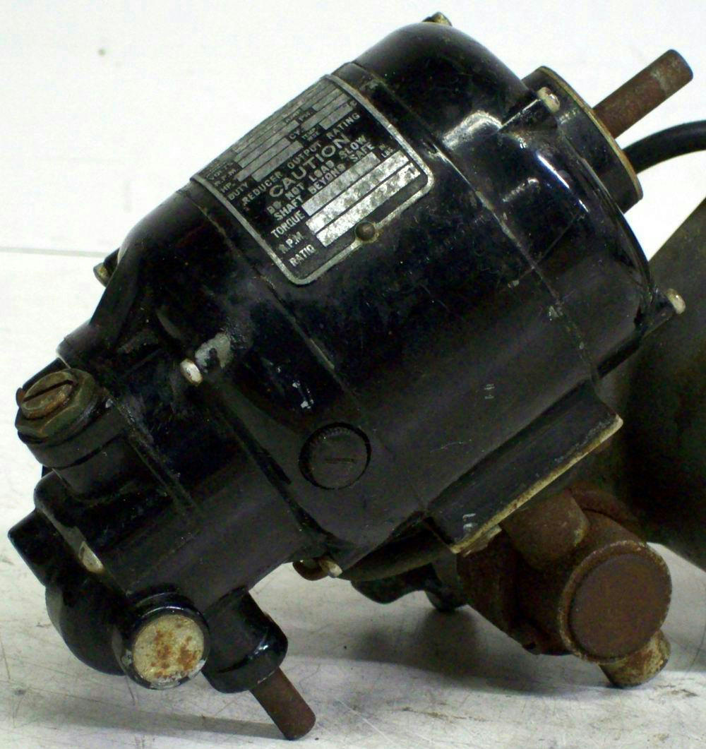 Bodine electric company nse 11r speed reducer motor for Speed reducers for electric motors