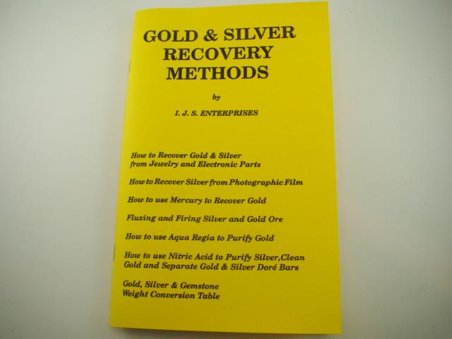Details about Gold & Silver Recovery Methods Book-Electric  Parts-Jewelry-Mercury-Refining