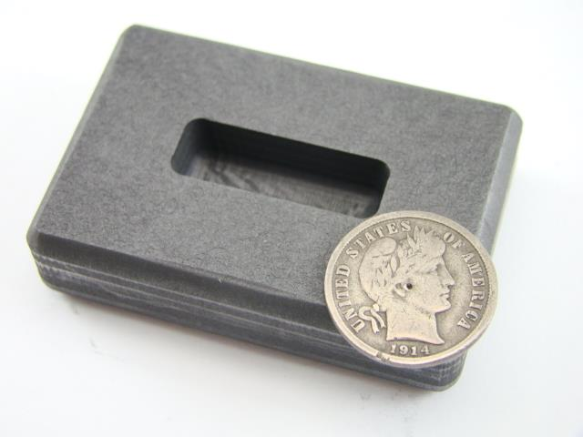 1 2 Oz Gold High Density Graphite Ingot Mold 1 4 Oz Silver