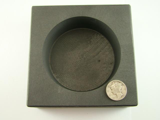 50 Oz Round Gold Bar High Density Graphite Mold Silver Copper Bar Coin Ebay