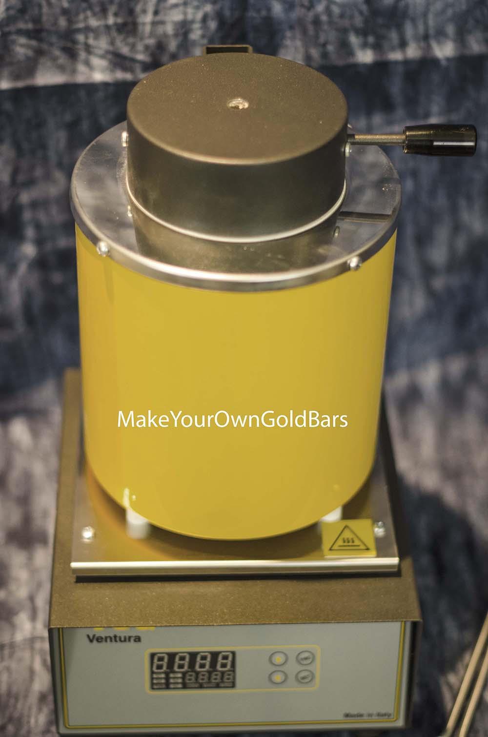Automatic Furnace Melting 3 Kilo Silver Amp Gold Pour Bar