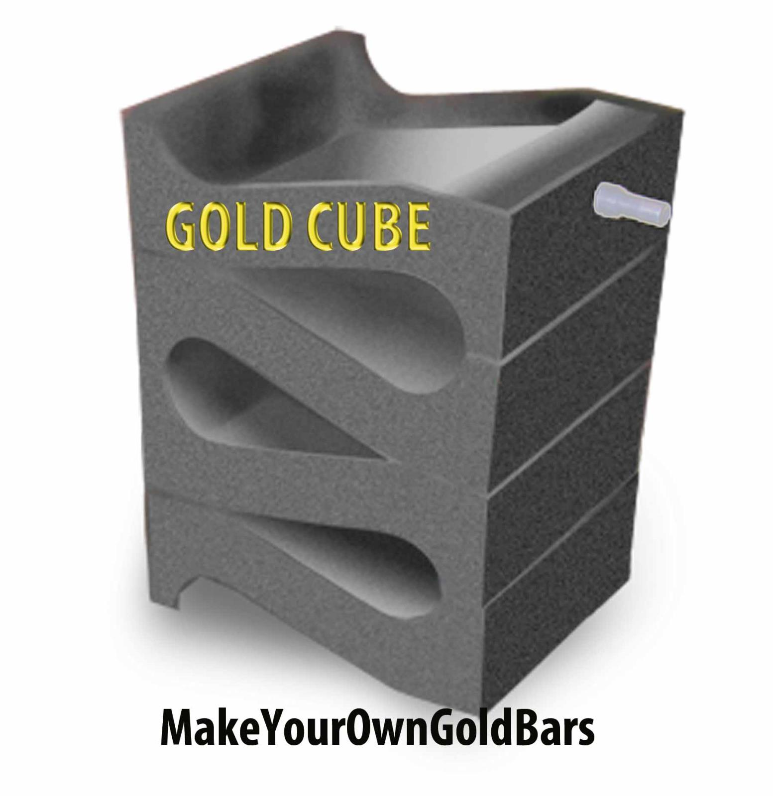 Gold Cube Three Stack Fast Recovery Sluice Separator for Gold Prospecting