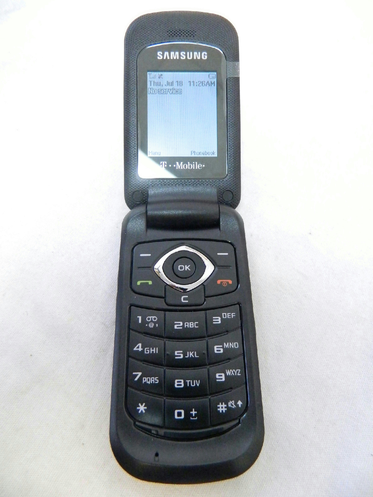 Samsung SGH t139 T Mobile Flip Phone Cell Phone Contract Free  eBay