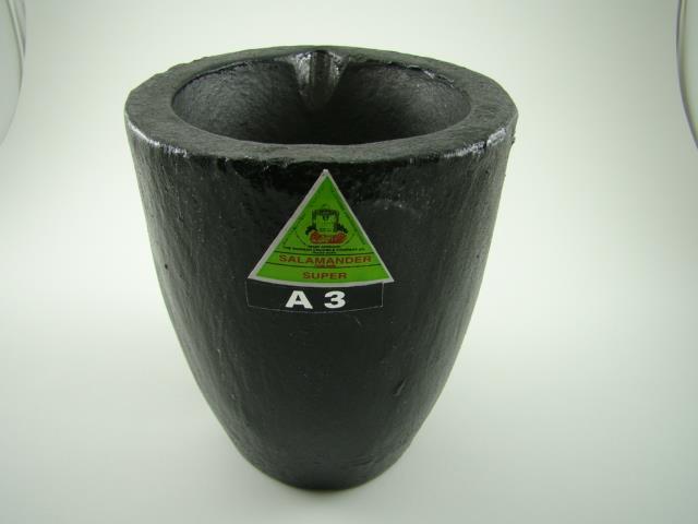 3 225 Oz Gold Graphite Crucible Silicon Carbide Furnace