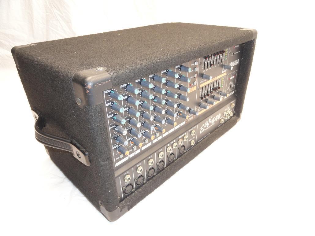 Yamaha Powered Mixer Model Number Emx  S