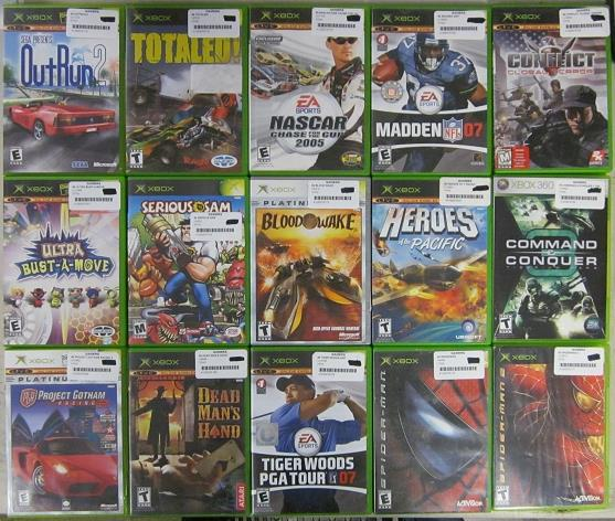 Old Xbox Games Racing Games : Lot of used original xbox games ebay