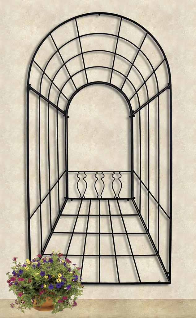 Achla 3-D Trellis Decorative Garden Wall Trellis FT-50