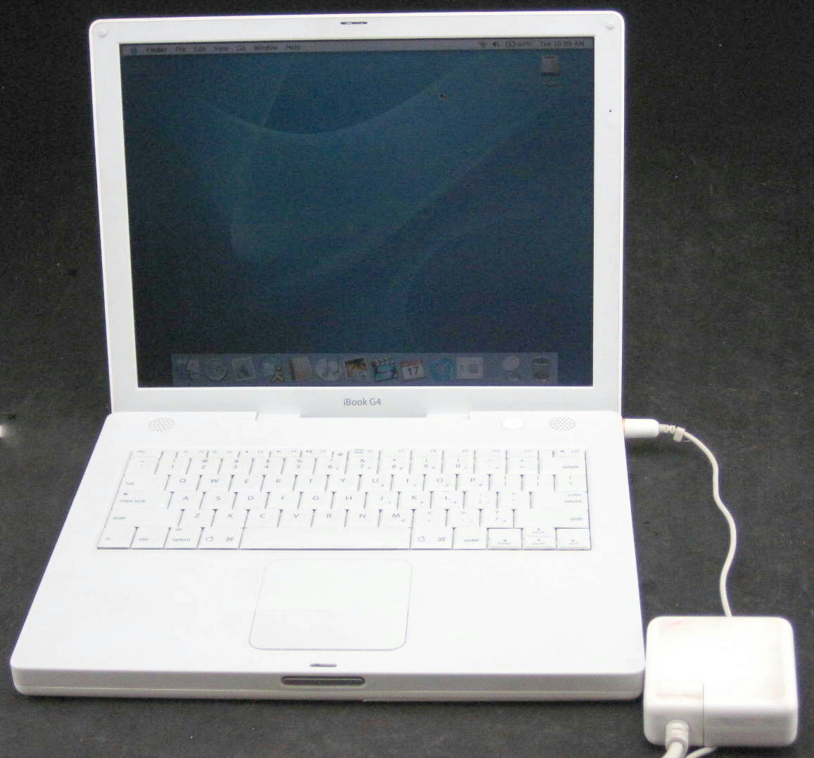 Apple Ibook G4 A1055 1 0ghz 1 2mb Ram 60gb Hdd Laptop