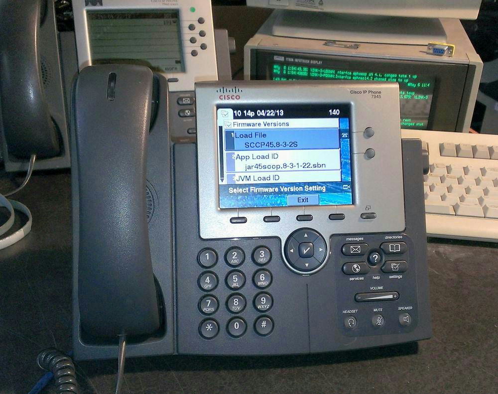 cisco cp 7945g 7945 unified ip phone color lcd 5 inch tft display rh instock901 com Cisco Equipment Cisco Equipment