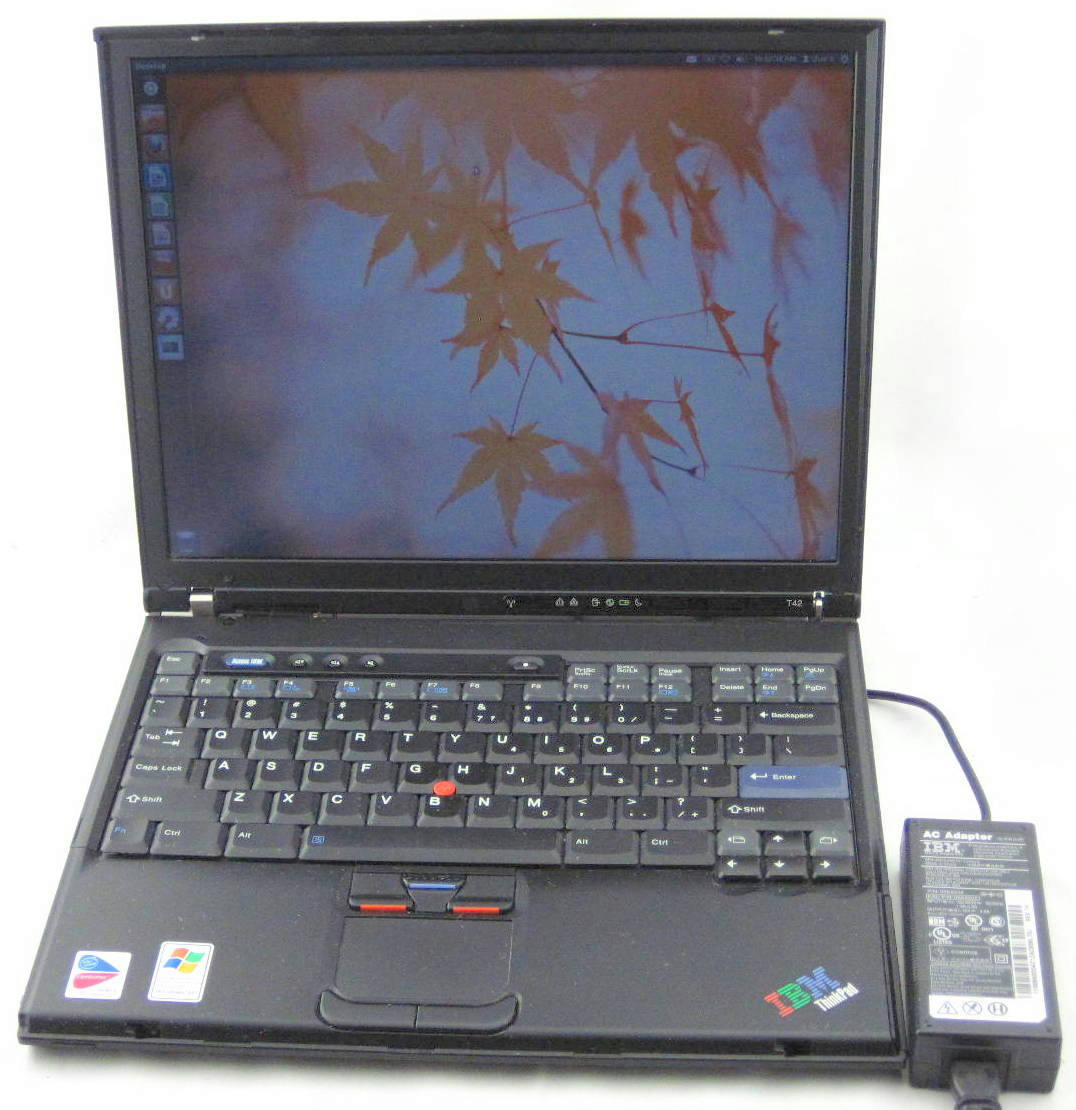 Ibm Thinkpad T42 14 1 Quot Pm 1 7ghz 768mb Ram 60gb Hdd Laptop