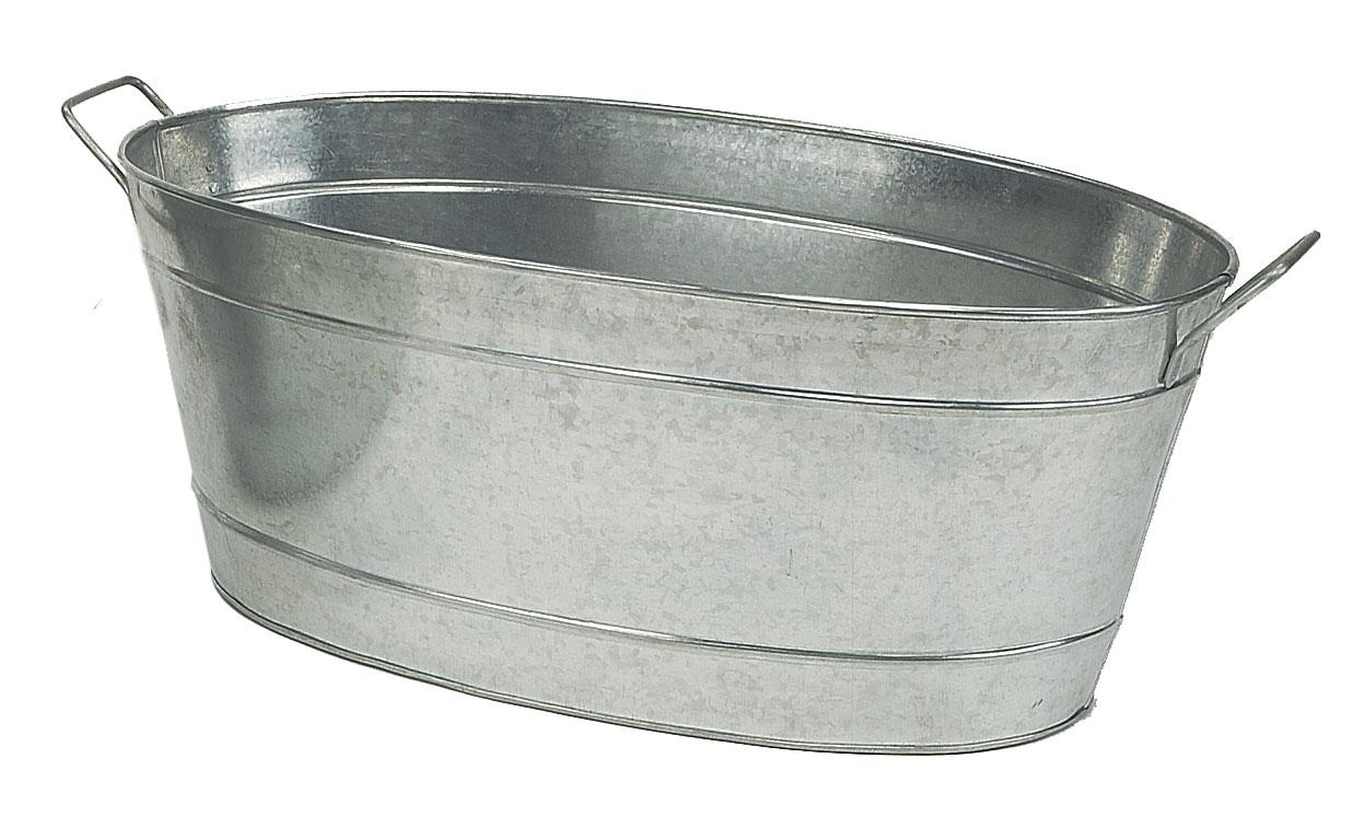 Achla Large Oval Steel Tub Party Beverage Cooler C 55 Ebay