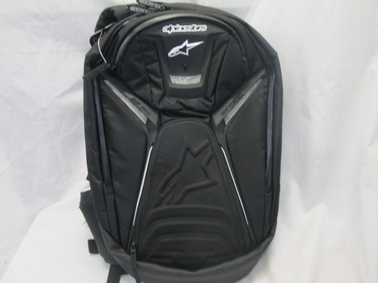 Alpinestars tech aero motorcycle backpack black ebay - Alpinestars tech aero ...