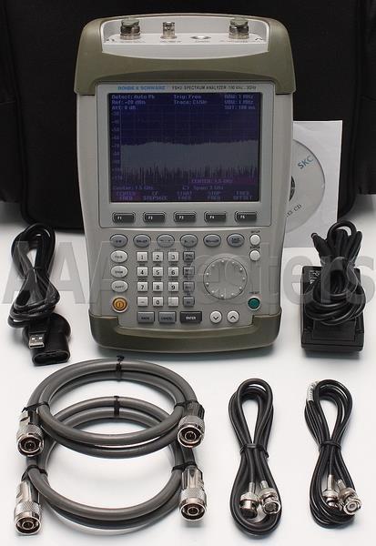rohde & schwarz spectrum analyzer manual