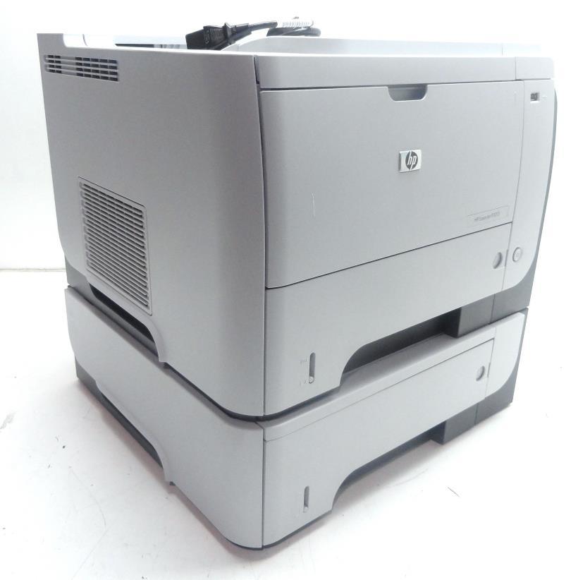 hp laserjet p3015 workgroup laser printer black white 40 ppm 1200x1200 dpi ebay. Black Bedroom Furniture Sets. Home Design Ideas