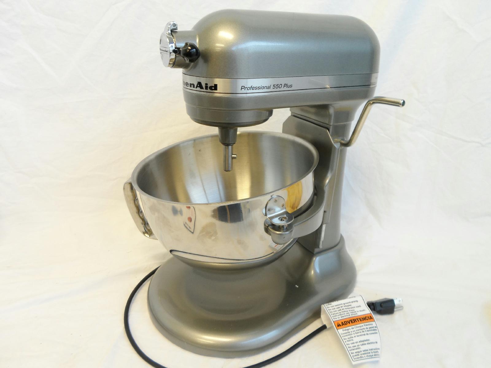 Kitchenaid Professional 550 Plus Stand Mixer Metallic