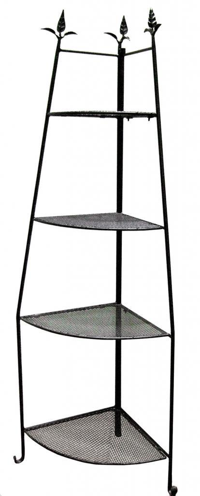 achla etagere corner unit decorative shelves slc 02 ebay. Black Bedroom Furniture Sets. Home Design Ideas