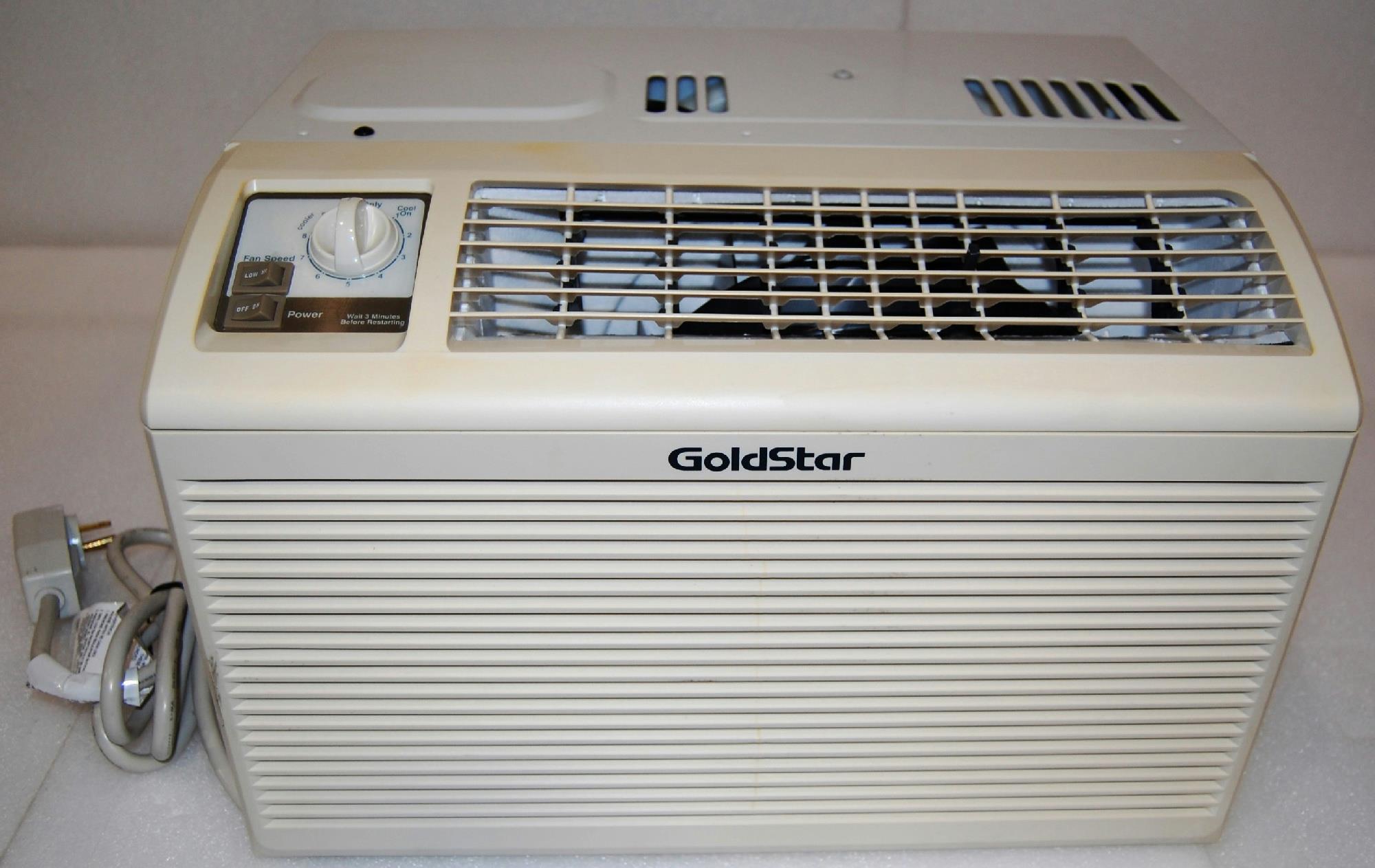 LG Goldstar (GWHD5000) Thru Wall/Window 5000 BTU Air Conditioner  #5B4E3F