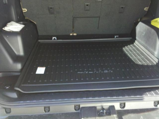 2010 2019 Oem Toyota 4runner All Weather Cargo Tray W O 3rd Seat Pt218 89112