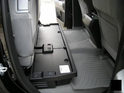 2007 2013 Toyota Tundra Double Cab Rear Under Seat