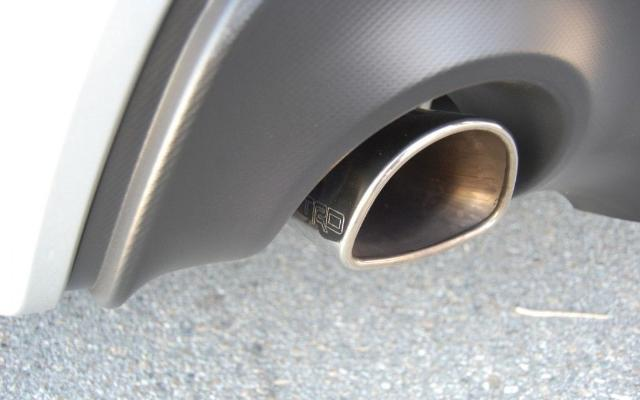 SCION FRS GENUINE TRD PERFORMANCE STAINLESS STEEL DUAL EXHAUST