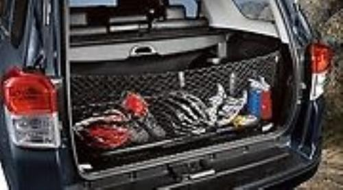 new oem 2010 2017 toyota 4runner cargo net with 3rd row seat. Black Bedroom Furniture Sets. Home Design Ideas